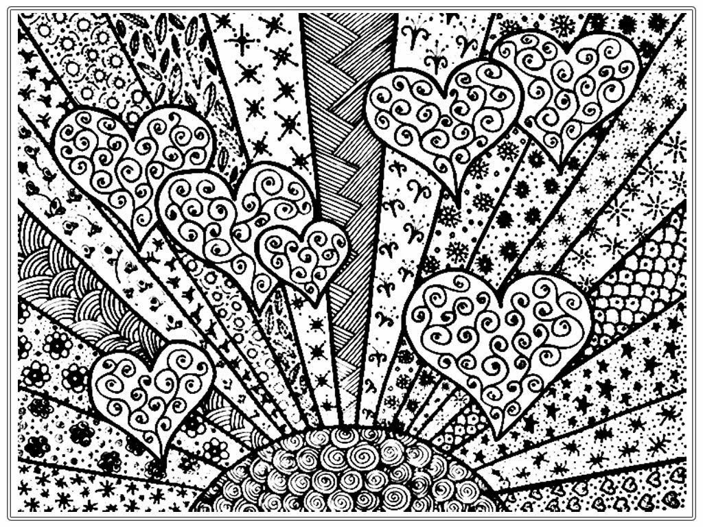 Online Printable Coloring Pages – Original Coloring Pages – Medium
