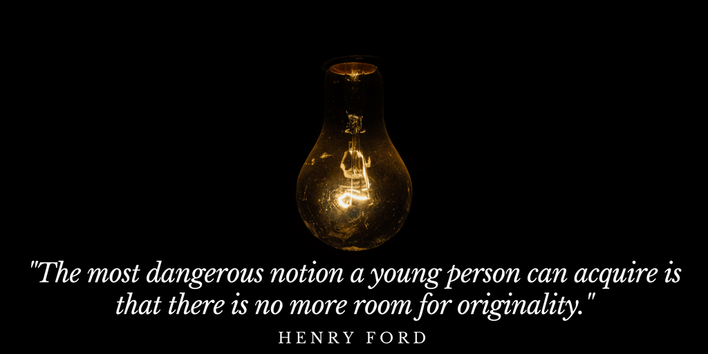 Life lessons on inventing – Be Yourself