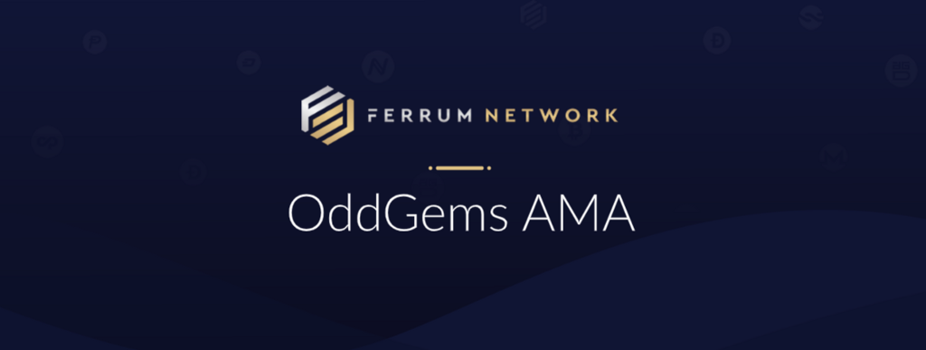 - 1 X1w v zJNWYm5aNGoeOs9Q - Here is a recap of the recent AMA conducted by OddGems with our COO Ian Friend for those of you…