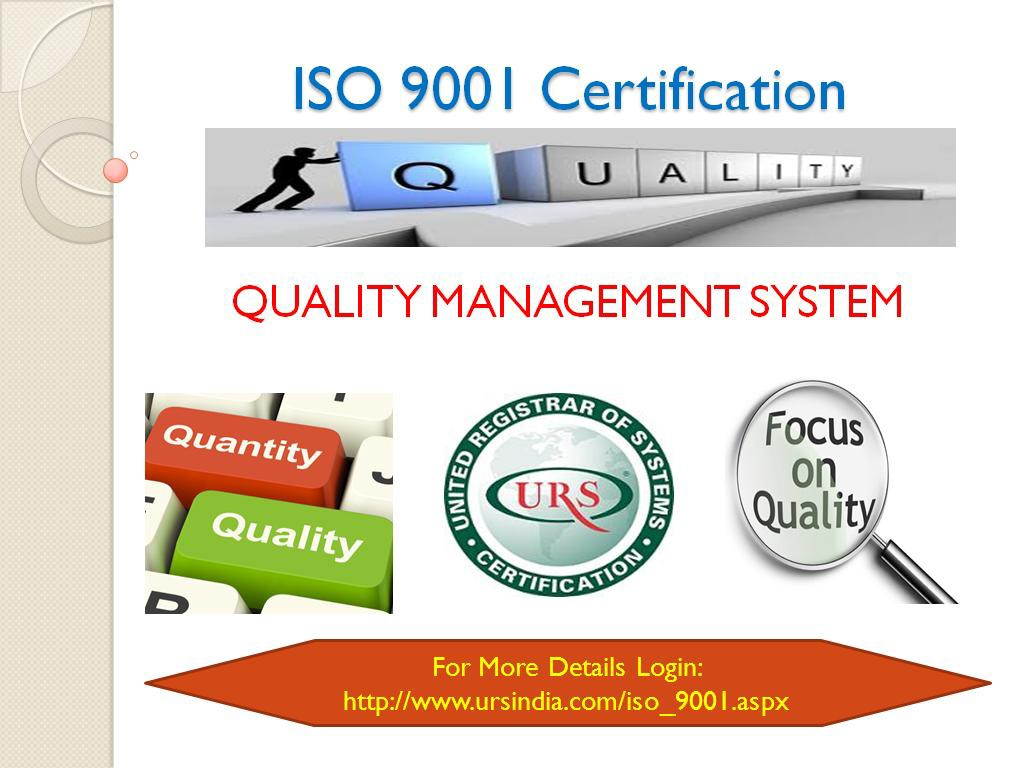 About Quality Management System Iso 90012015 Certification
