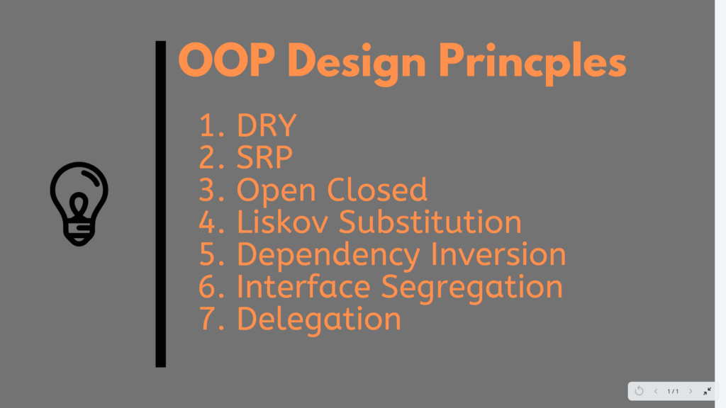 10 OOP Design Principles Every Programmer Should Know - By