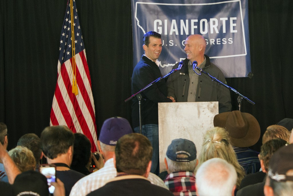 Republican Congressional candidate allegedly body slams reporter