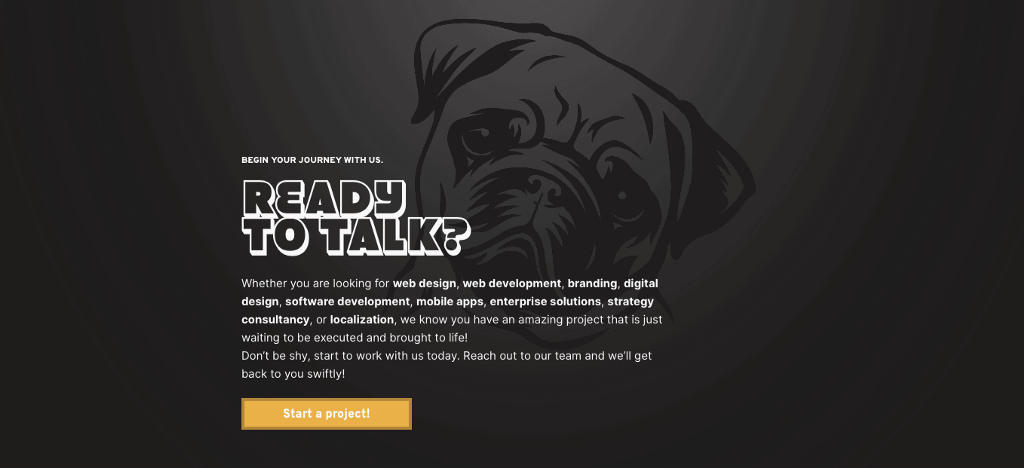 Black Pug Studio Web Design & Web Development | Start a Project