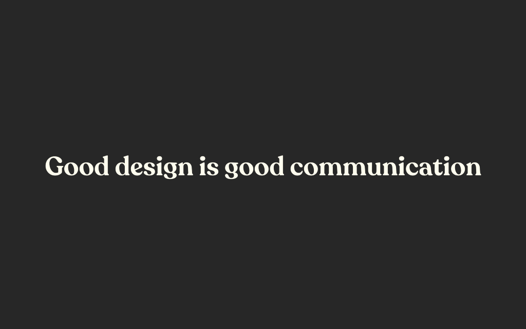 The most important soft skill for designers: Communication