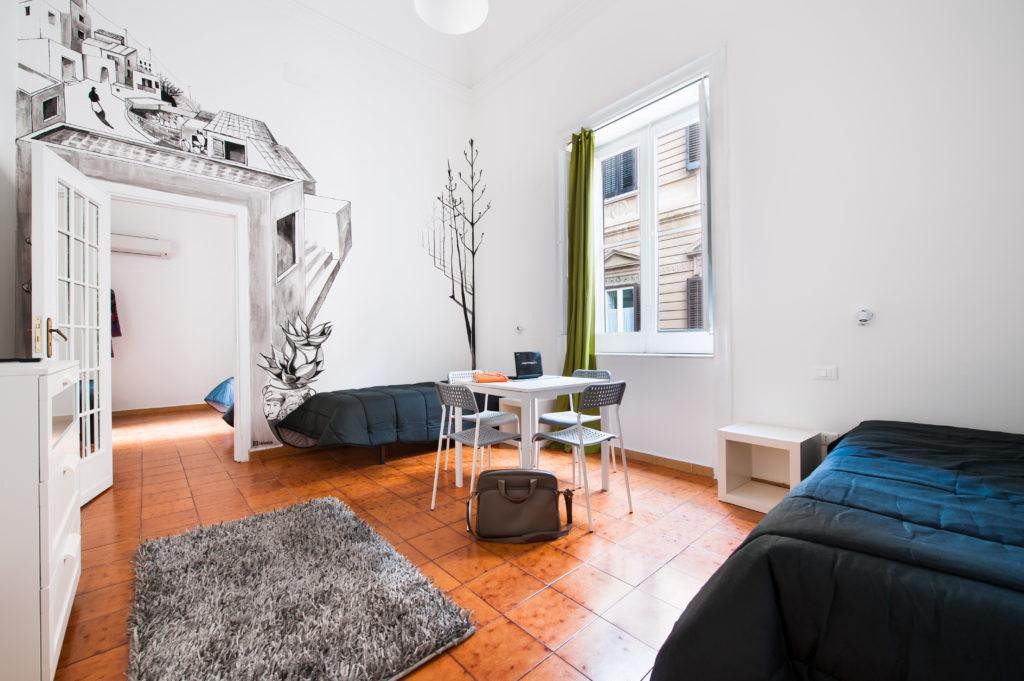 Featured Property Of The Week A Casa Di Amici Boutique Hostel In - Living-room-art-property