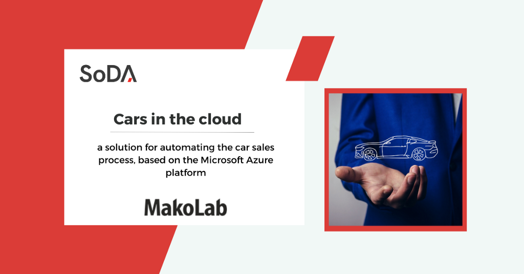 Cars in the cloud—a solution for automating the car sales process, based on the Microsoft Azure…