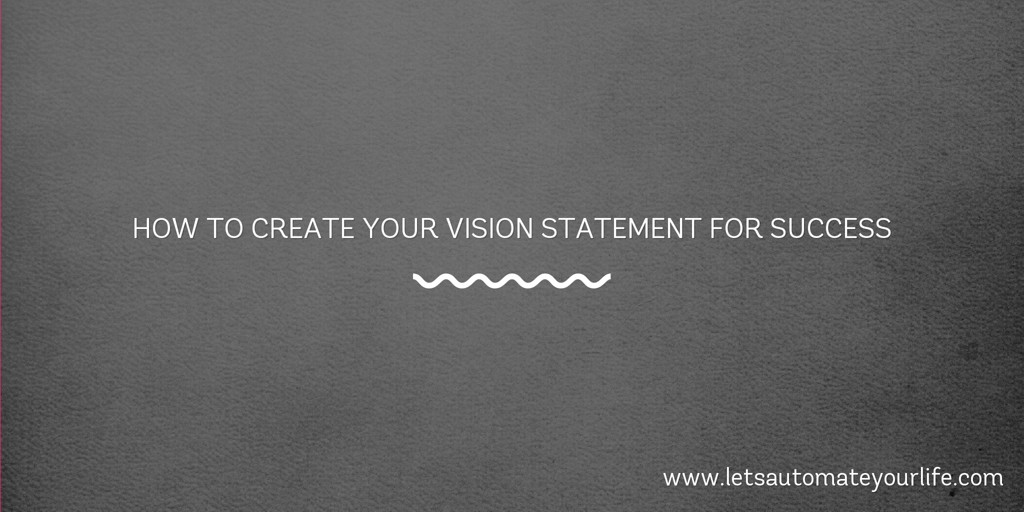 create personal mission statement