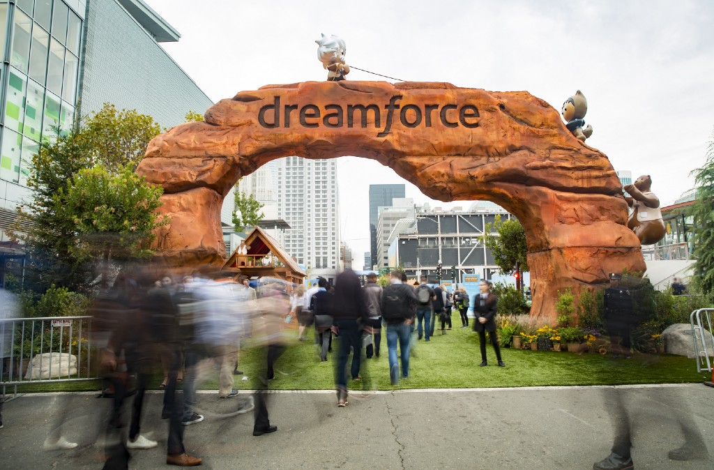Dreamforce is one of the largest user conferences in the world.