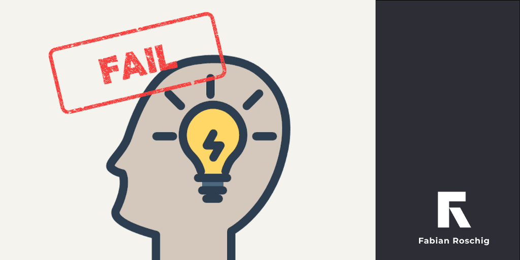"""Thumnail for blog post 'Why """"fail fast"""" and break things is not en vogue any more.'"""