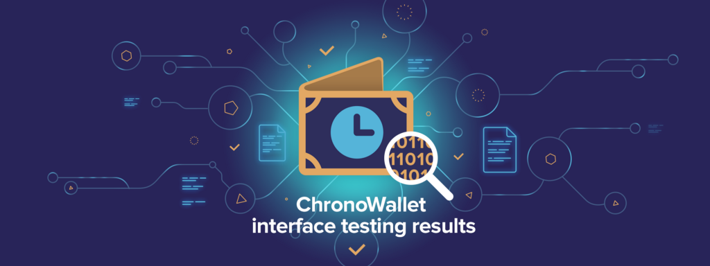 ChronoWallet Testing Campaign Results!