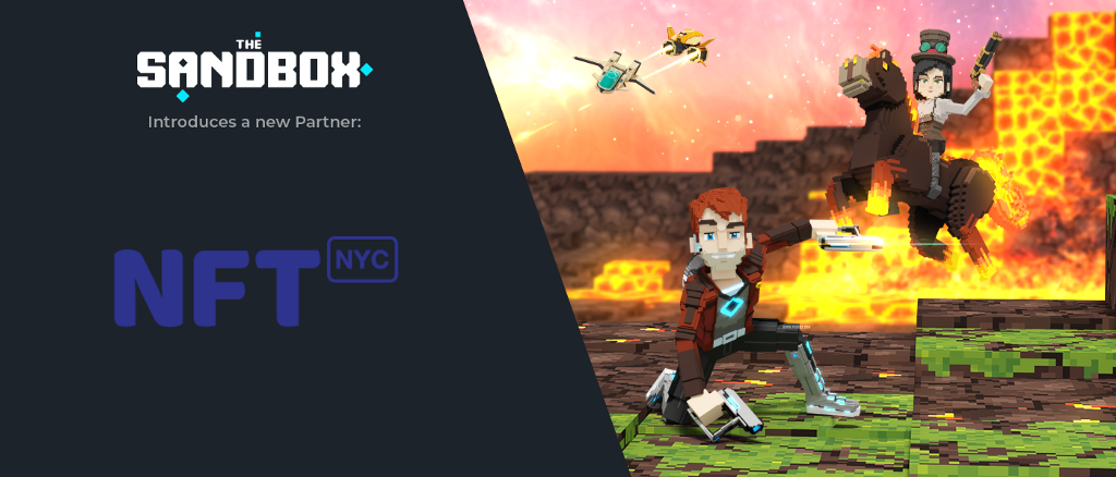 PARTNERSHIP ANNOUNCEMENT:  THE SANDBOX ft. NFT.NYC