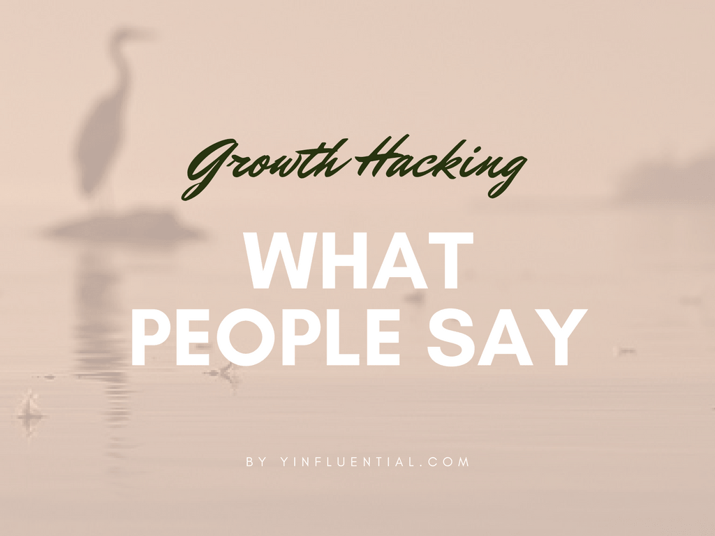 growth marketing 101 what people say about growth hacking