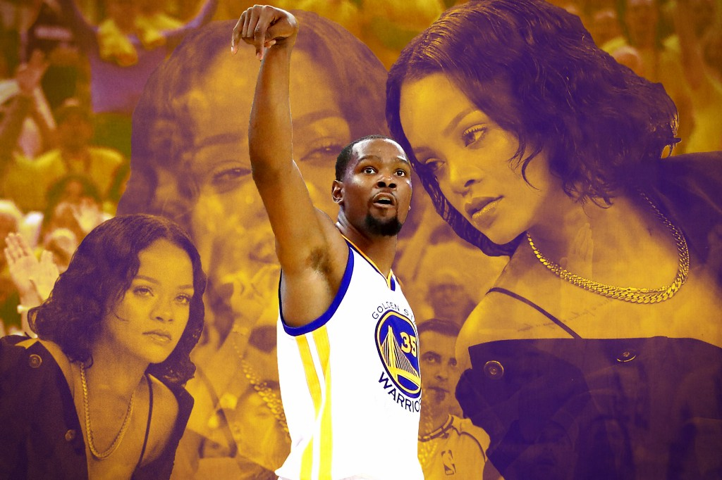 The Greatest NBA Finals Rivalry Is Kevin Durant vs. Robyn Rihanna Fenty