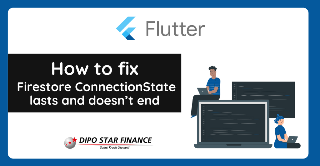 How to fix that a Firestore ConnectionState.waiting lasts and doesn't end