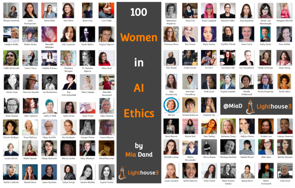 100 Brilliant Women in AI Ethics to Follow in 2019 and beyond