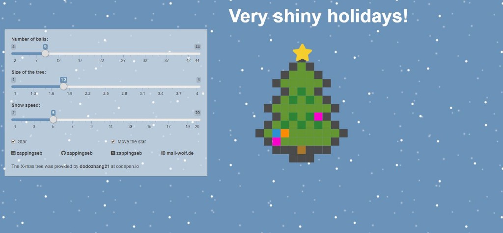 Very shiny holidays!