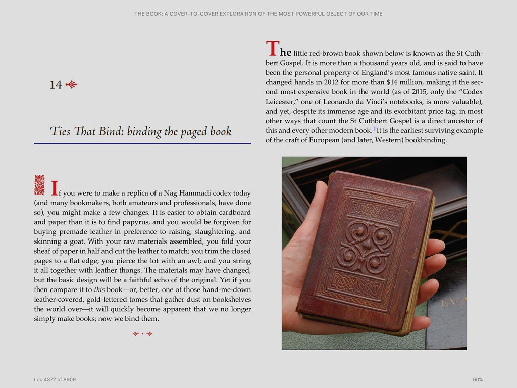 Review of the book a cover to cover exploration of the most the ebook loses the precise type and layout of the print book fandeluxe Document
