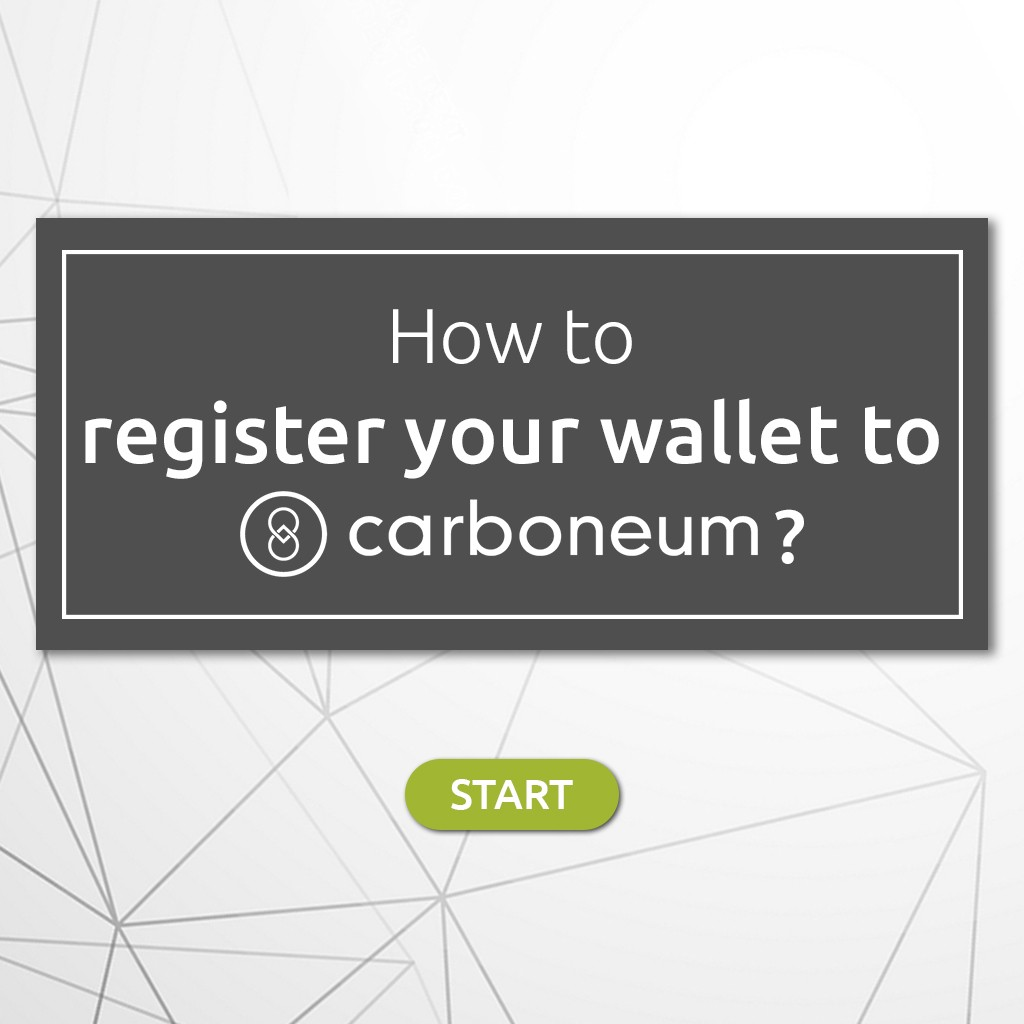 How to register in the wallet