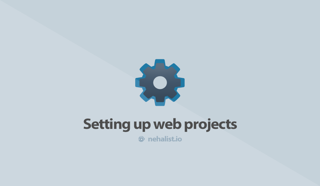 Setting up web projects
