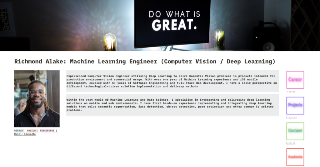 Creating A Data Science And Machine Learning Portfolio With Notion
