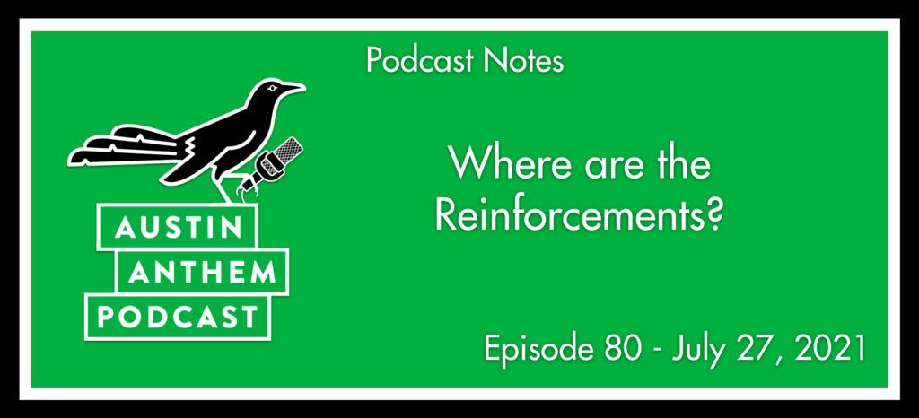 Podcast: Where are the Reinforcements?