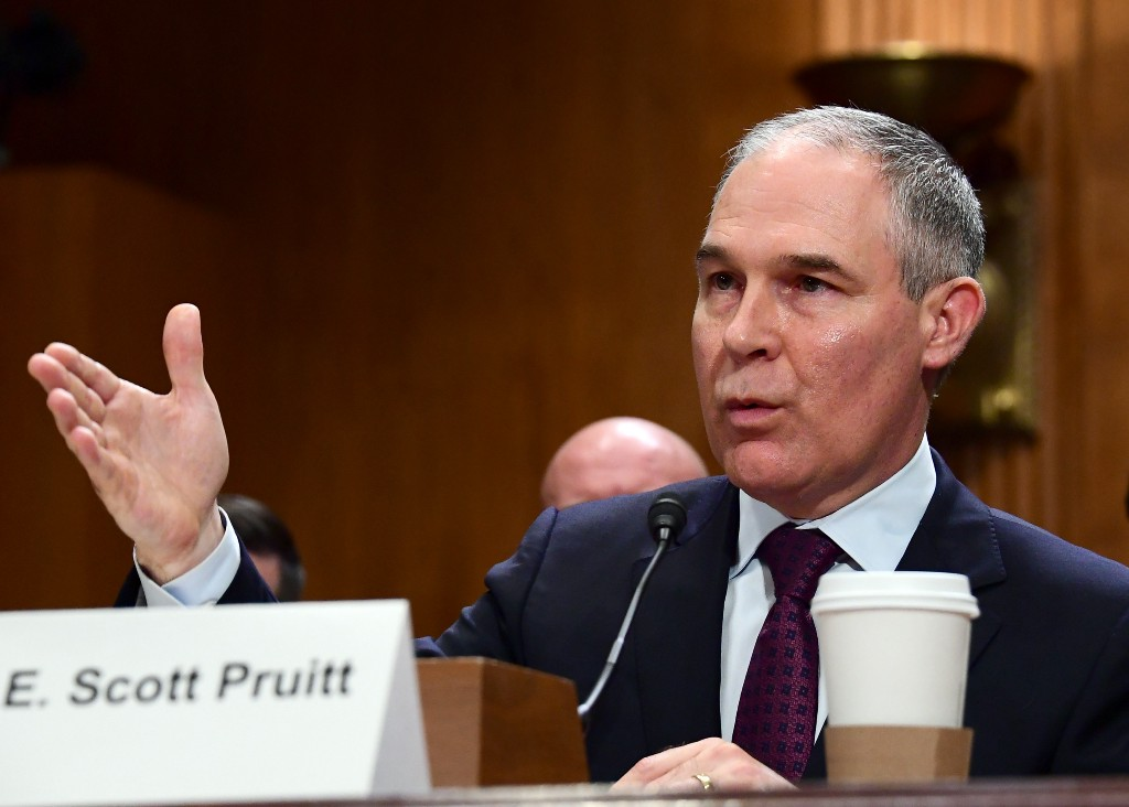 Scott Pruitt is a champion for states' rights — unless they want to strengthen environmental…