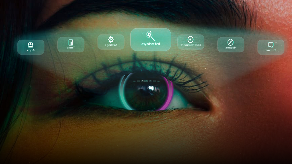 Controlling future augmented reality with only your eyes