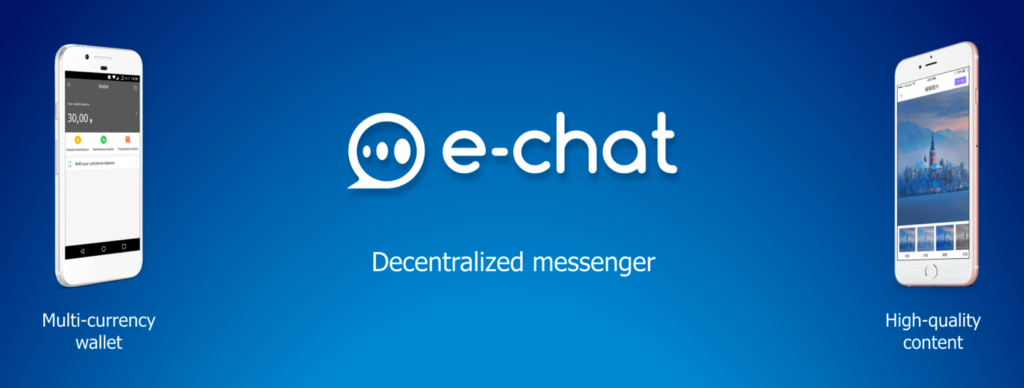 The Cryptocurrency News Group [CRYPTOLIKE]  [pré-ICO] e-Chat. C'est comme un Bitcoin, mais Messenger