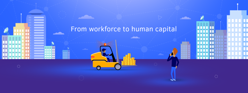 From workforce to human capital: revolutionary changes of employment and recruiting