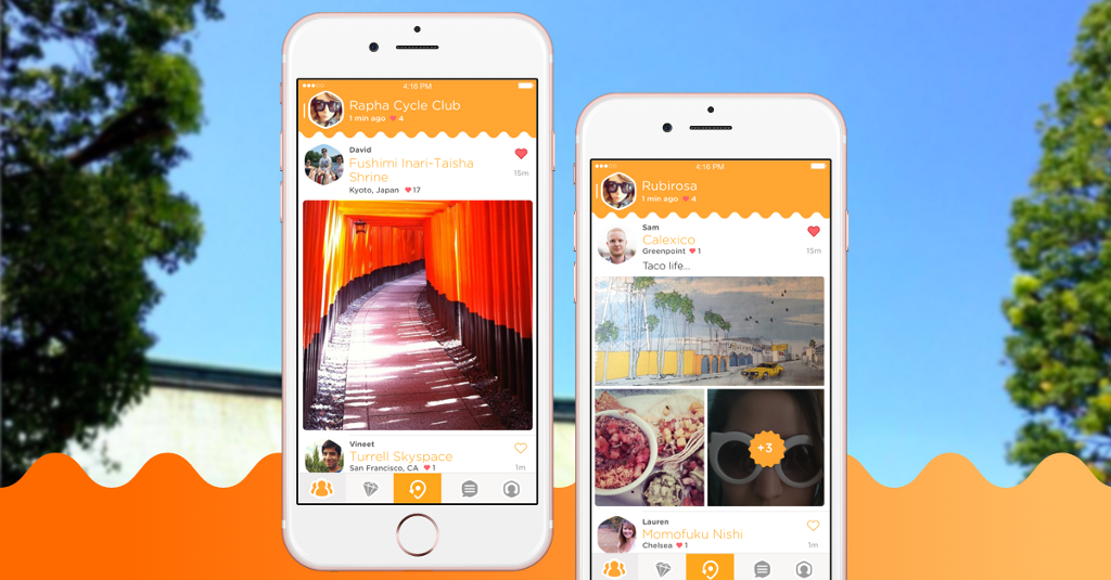 Swarm mobile app on iPhone