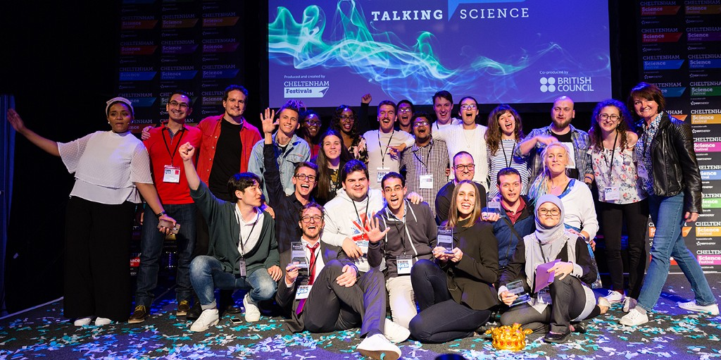 Join and win the FameLab Competition 2020