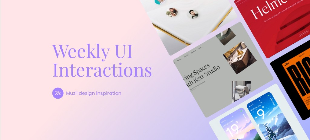 UI Interactions of the week #256