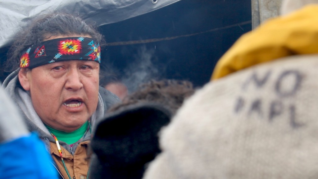 WATCH: Demonstrators say goodbye to the Standing Rock protest camp