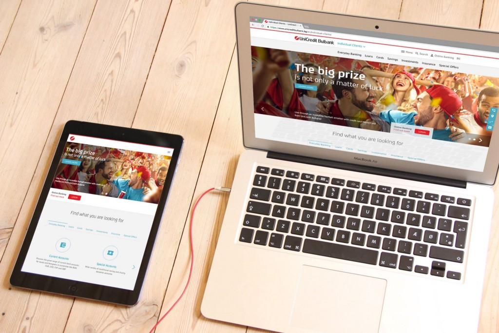UniCredit Bulbank Corporate Web Portal