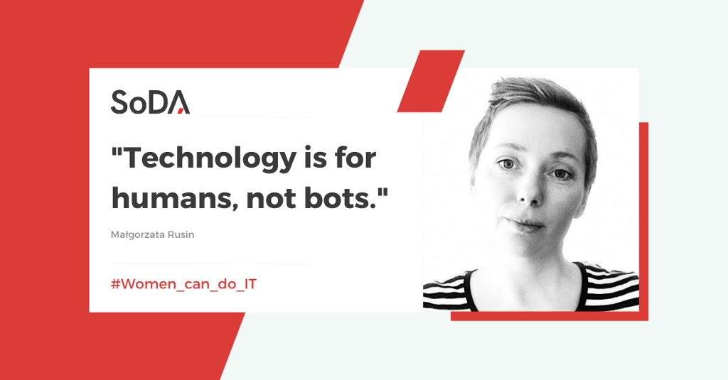 """""""Technology is for humans, not for bots."""""""