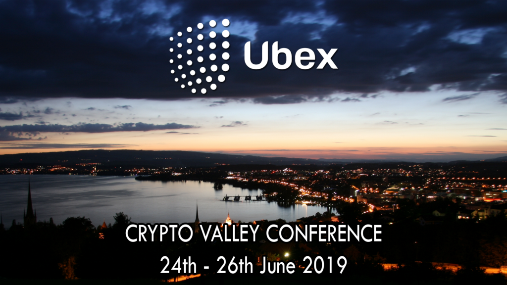 Ubex Project To Present At The Crypto Valley Conference