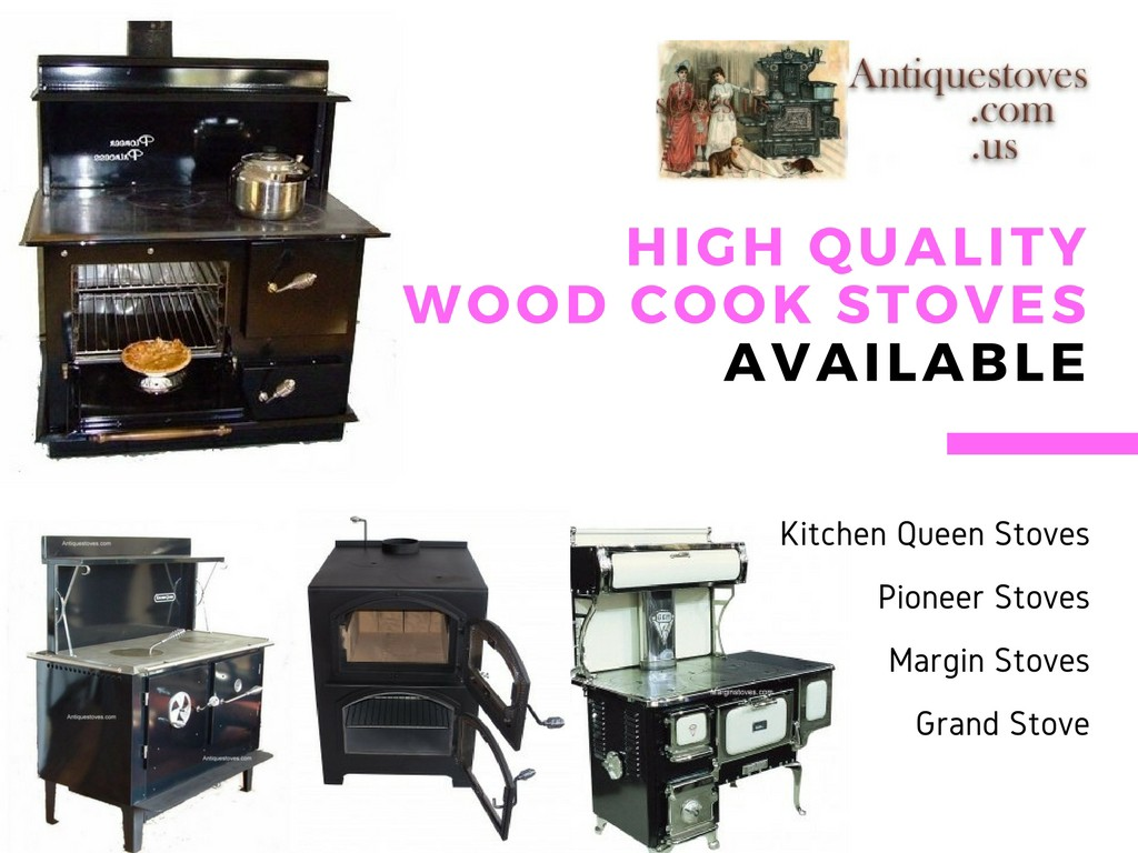 Buy Online Wood Cooking Stoves Crafted by Amish or Mennonite Craftsmen