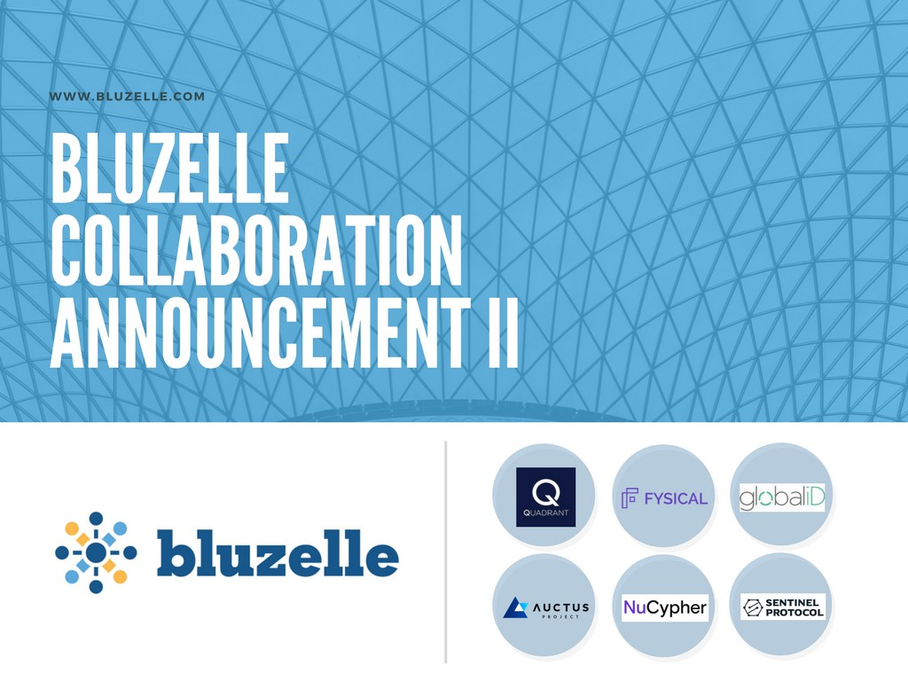 Bluzelle collaborators update ii the blueprint by bluzelle forming alliances with 6 more ecosystem players in data identity investment security malvernweather Images