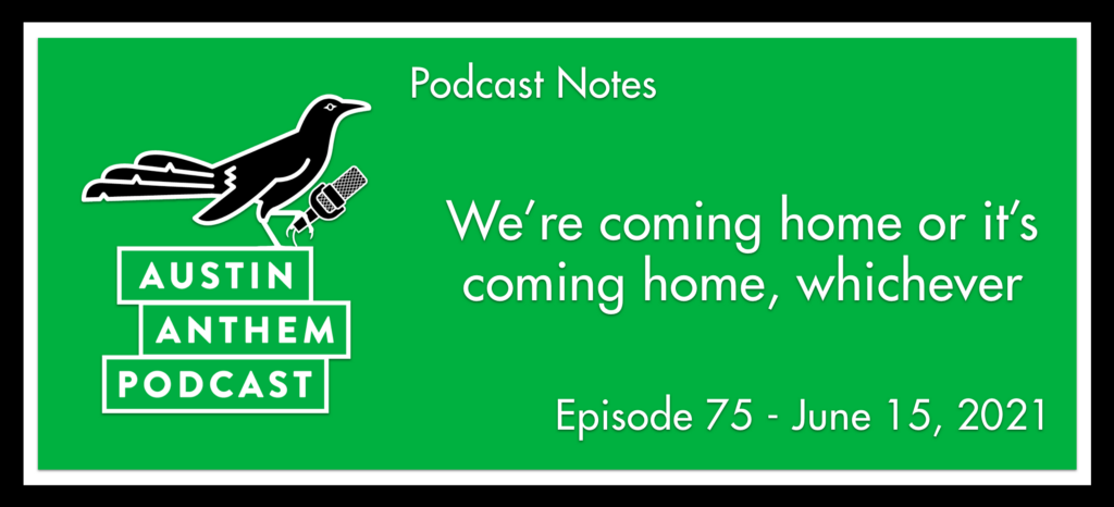 Podcast: We're coming home or it's coming home, whichever