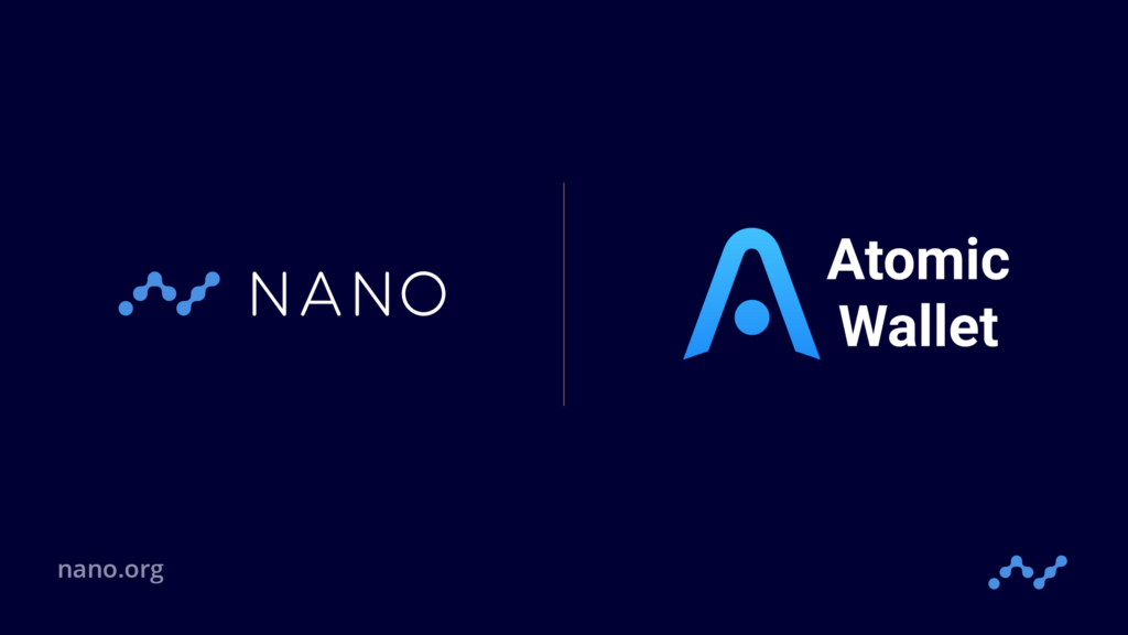 Nano Foundation — Q and A with Atomic Wallet