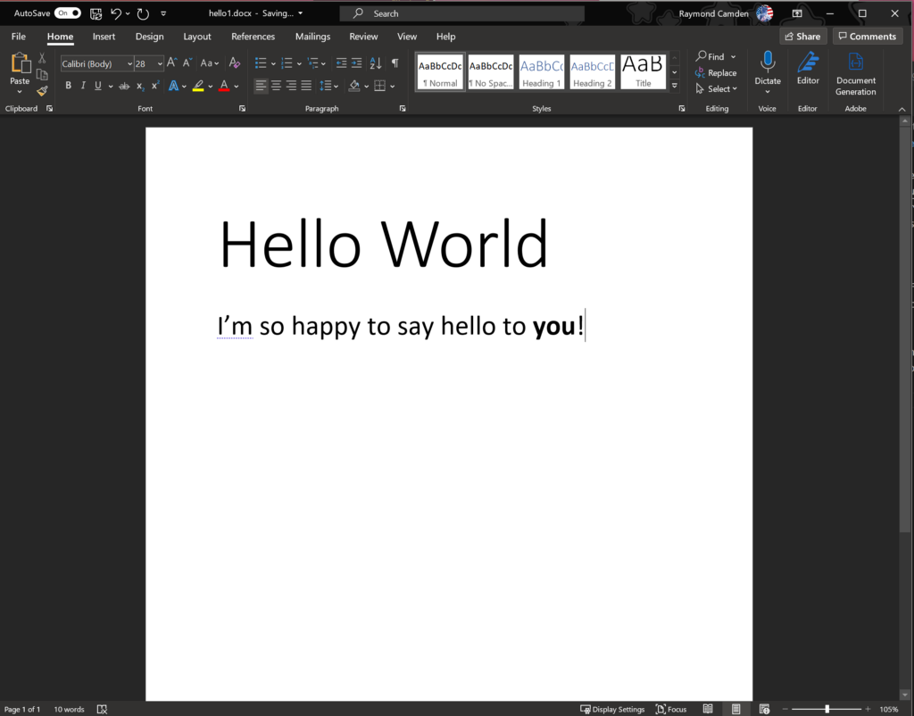 Hands On with Adobe Document Generation API