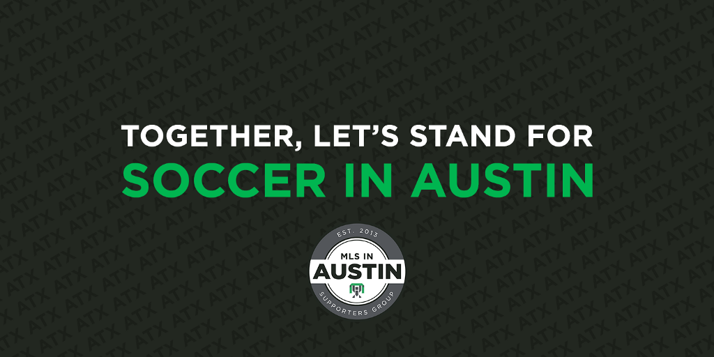 Together, Let's Stand For Soccer in Austin