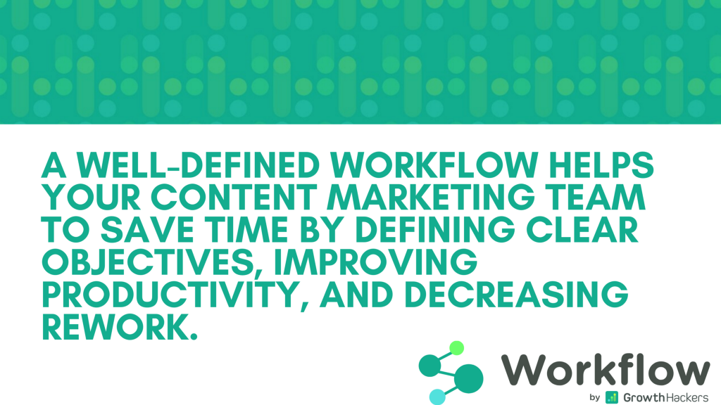 What's a Content Marketing Workflow? 1