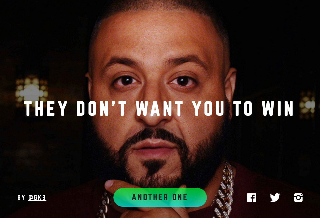 On Learning The Keys To Internet Virality From Dj Khaled
