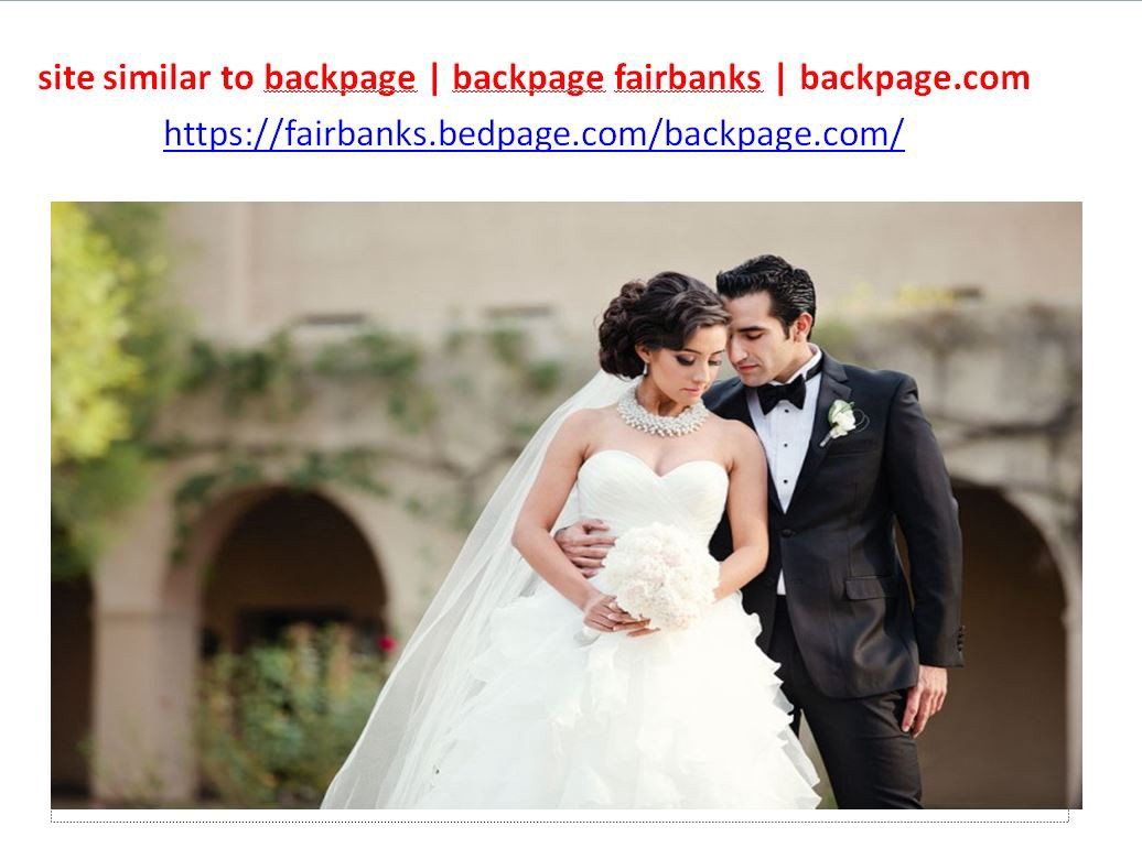Fairbanks backpage