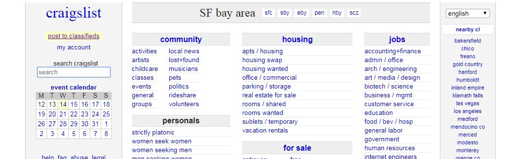 Craigslist General Fresno >> Craigslist Usability Testing And Redesign Suggestions