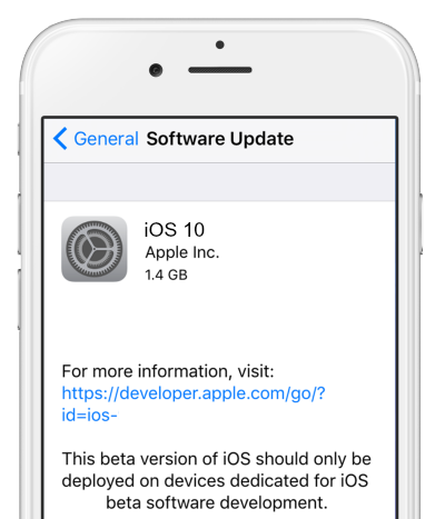 Cannot download ios 10 beta over-the-air on iphone/ipad? Quick fix.