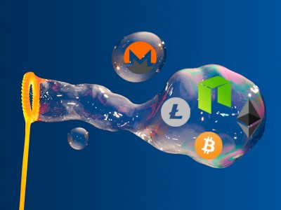 How Big Is Bubble Big Enough To Crash >> Popping The Bubble Cryptocurrency Vs Dot Com Hacker Noon