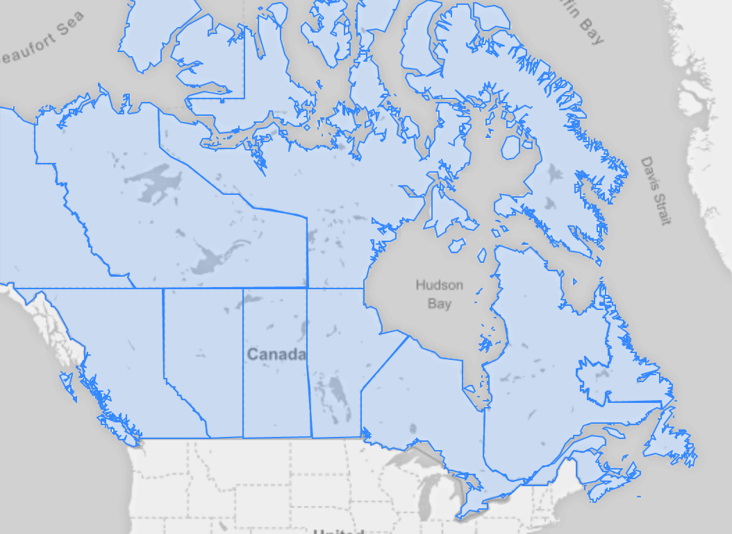 Making Maps for Canadas Provisions and Census Divisions in R