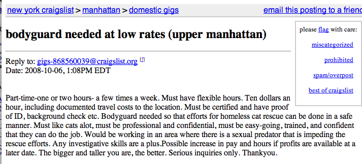 Craigslist men seeking men manhattan